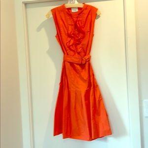 Akris Punto orange dress